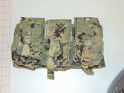 NEW Eagle Industries AOR2 M-4 Triple Pouch NAVY SEAL #4