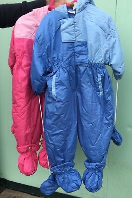 Wholesale Job Lot 15 x Kid's Baby's Winter Snow Suits 6 Months - 5 Years NEW