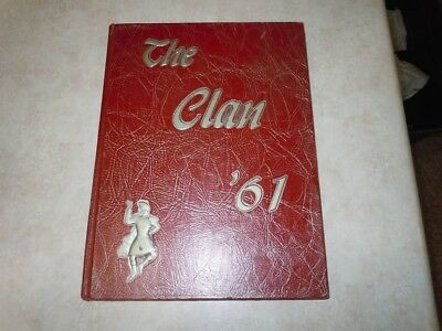 1961 The Clan yearbook