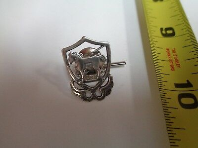 10th Special Forces 1950's beret badge Sterling Silver Tie Tack   Green Berets