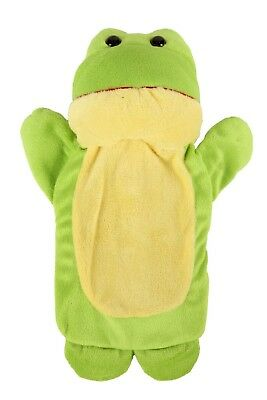 Cozy Creatures Super Soft Childs Hot Water Bottle Cover (Frog)