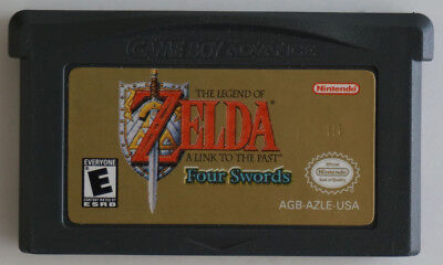 Legend of Zelda A Link to the Past & Four Swords GBA Game Boy Advance