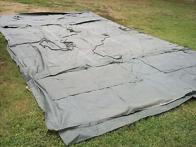 MILITARY 16X16 FRAME TENT SURPLUS CAMPING HUNTING US ARMY ..NO ...