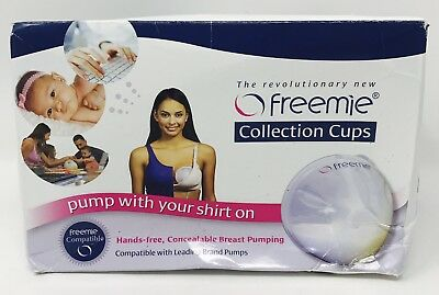 Freemie Collection Cups Pump With Your Shirt On Hands Free - Ships Free