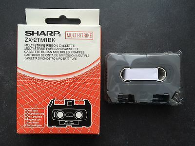Sharp Font Writer ZX-2TM1BK Multi-Strike Ribbon Cassette (One Cassette)
