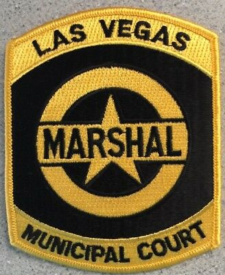 Las Vegas Marshal Municipal Court Embroidered Patch New