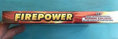 "Firepower Firecracker Firework Collectible Box Pack Label ""Just Labels"""