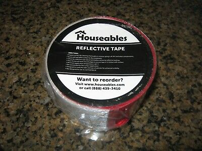 "Trailer Conspicuity Tape DOT-C2 Approved 2"" in x 12' ft Reflective Red/White"