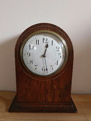 Vintage French platform escapement mantle clock