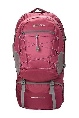 Mountain Warehouse Travelling 60L Rucksack + 20L Detachable Daypack Backpack