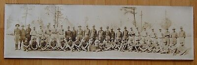 PANORAMIC PHOTO- 131st INFANTRY MEDICAL DETACHMENT- BASEBALL TEAM, MILITARY, WWI