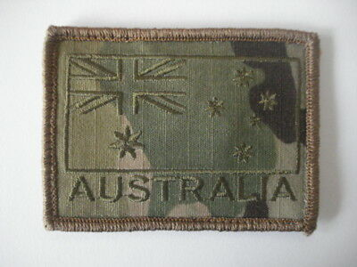Australian National Flag Patch Subdued Green on Muliticam