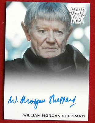 STAR TREK (2009 FILM) WILLIAM MORGAN SHEPPARD, LIMITED EDITION Autograph Card