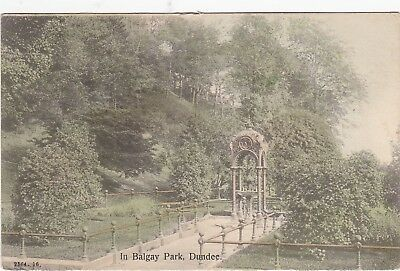 Ornate Drinking Fountain, In Balgay Park, DUNDEE, Angus