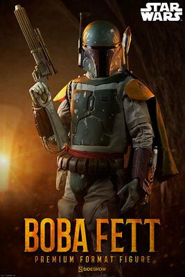 Star Wars Boba Fett Premium Format Figure by Sideshow Collectibles / ROTJ