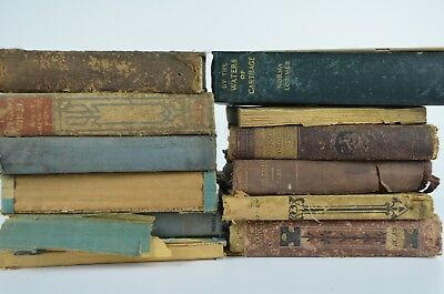 Vintage Antique Book Lot of Religious/School Books, Lot 1 of 2