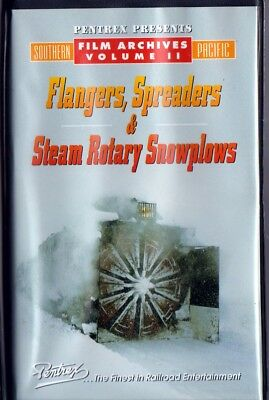 Flangers, Spreaders & Steam Rotary Snowplows - Pentrex VHS, 1999, 30 minutes