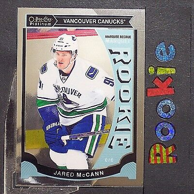 JARED McCANN  RC  2015/16  O-Pee-Chee  Platinum  ROOKIE #M20  Florida Panthers