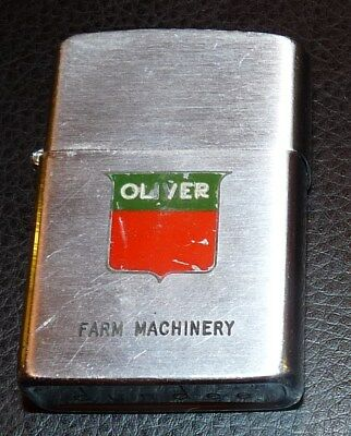 Vintage Oliver Farm Machinery Dundee Advertising Lighter