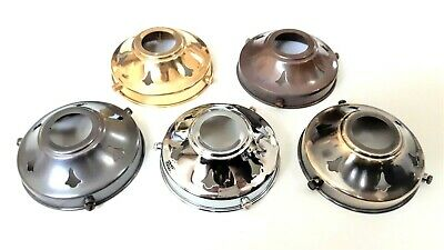 Lamp shade gallery for B22 lamp holder Width 83mm or 3 1/4 Inches 5 finishes