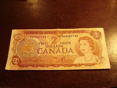 1974 - Canada $2 bill - Canadian two dollar note - BB4487734
