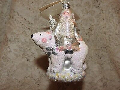 Patricia Breen Jeweled Store Exclusive Polar Claus in Silver