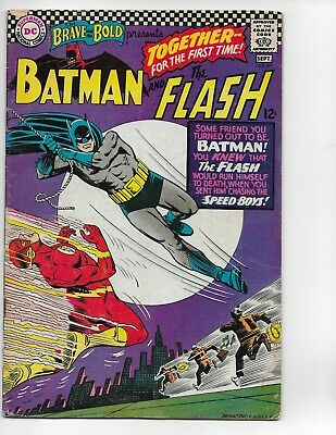 THE BRAVE and the BOLD #67 Batman & The Flash Carmine Infantino Art Good