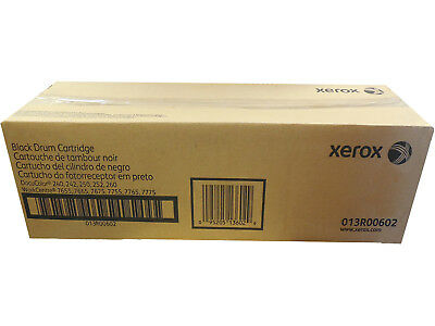 New Genuine Xerox Black Drum Cartridge 013R00602 For Docucolor 240 242 Sealed