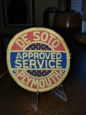 VINTAGE 1950s DESOTO PLYMOUTH APPROVED SERVICE