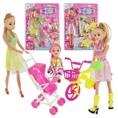 Toys for Girls Princess Change Clothes Lovely Cute Fashion Pretty Doll Toys Lots