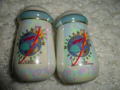 Collectable Millennium Fiji 2000, salt and pepper shakers.