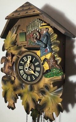 Cuckoo Clock Very Rare Please Check The Video Link