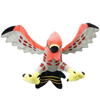 Pokemon Center Talonflame Stuffed Animal Figure Toy Plush Doll Kids Gift 12""