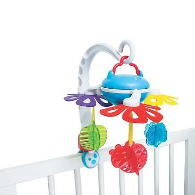 Playgro Musical Gatden Travel Mobile, Baby Crib & Stroller, Grow N' Play - 2113