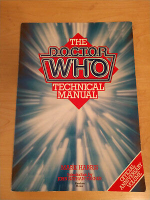 The Doctor Who Technical Manual by Mark Harris Paperback Sci-Fi 1983