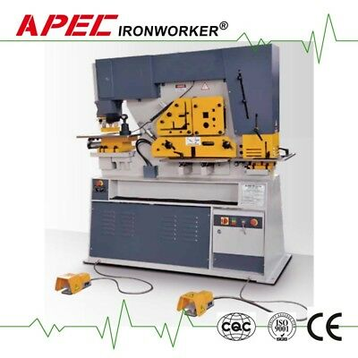 APEC ASW-95 Hydraulic Ironworker Steelworker Machine for Euro