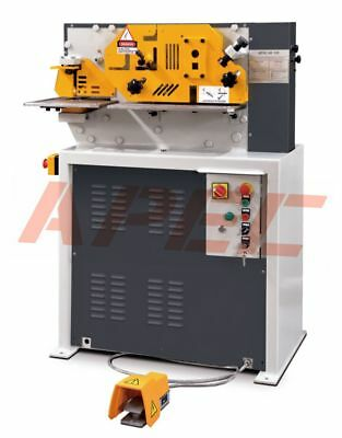 APEC ASW-45 Hydraulic Ironworker Steelworker Machine for Euro