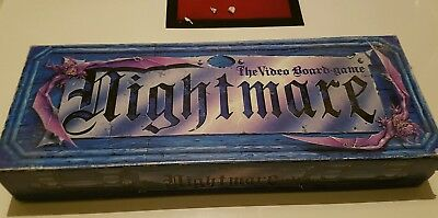 Nightmare board/VHS game. Ok condition