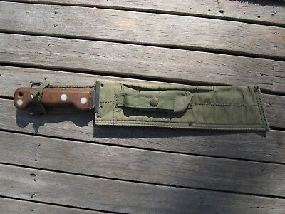 Australian Lithgow made Vietnam issue machete golok  1969