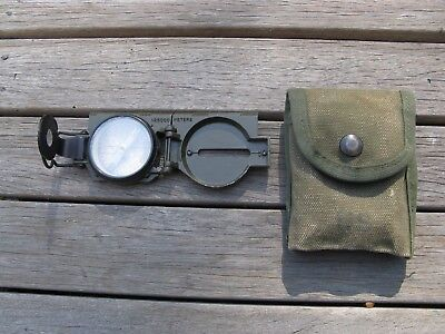 Australian army  Vietnam issued US Army Lensatic Compass 1962