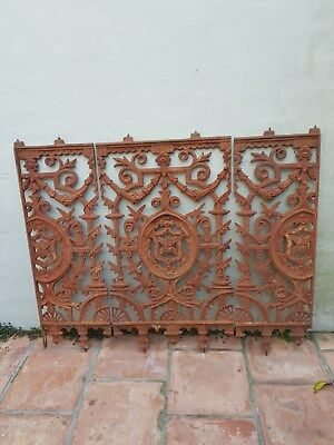 Wrought Iron Paddington Lace Panels