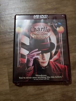 HD DVD, Charlie and the Chocolate Factory, NEW in Package