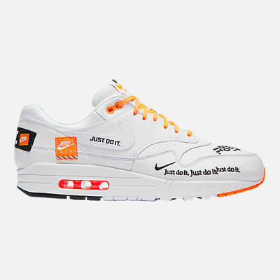 best service 5852e e74fc Nike Air Max 1 SE MENS Just Do It JDI WHITE New in Box DS shoes