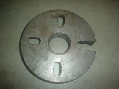 """2-3/8"""" x 6 TPI 8"""" South Bend Metal Lathe Dog Drive Plate Faceplate Face Driving"""