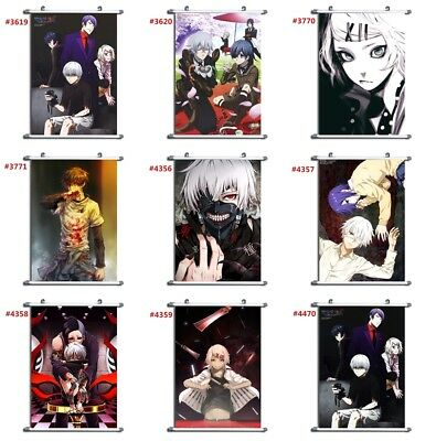 Tokyo Ghoul anime manga Wallscroll Stoffposter 25x35cm AD
