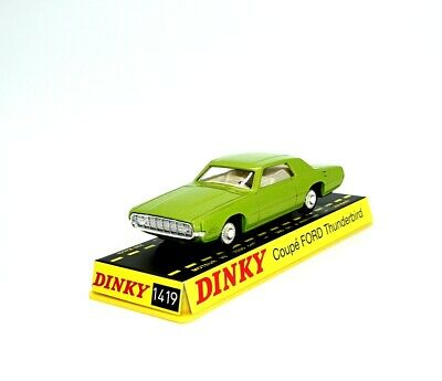 1/43 DINKY TOYS 1419 COUPE FORD THUNDERBIRD die-cast COLLECTION ATLAS CAR MODEL