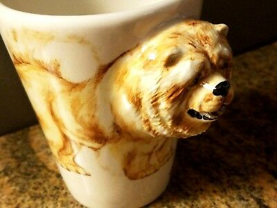 Chow Chow Coffee Mug 3 D,By Blue Witch.1 only left! New with Original Box