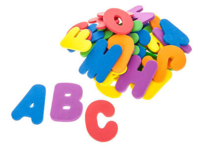 36Pc Bath Letter&number Alphanumberic Puzzle Soft Eva Foam Early Education Hot!!