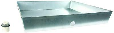 Camco 20922 Water Heater Drain Pan, 24-Inch x 24-Inch x 4-Inch