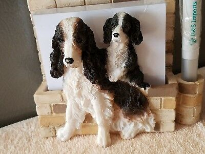 New! English Springer Spaniel Pad/Pen holder with magnet.NEW. 2 Left!